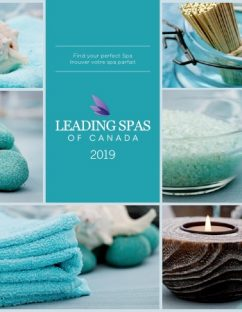 Leading Spas of Canada Directory 2019 Cover
